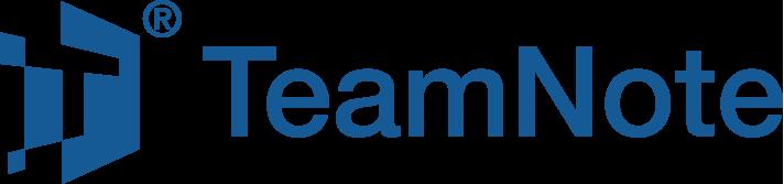 TeamNote logo landscapr