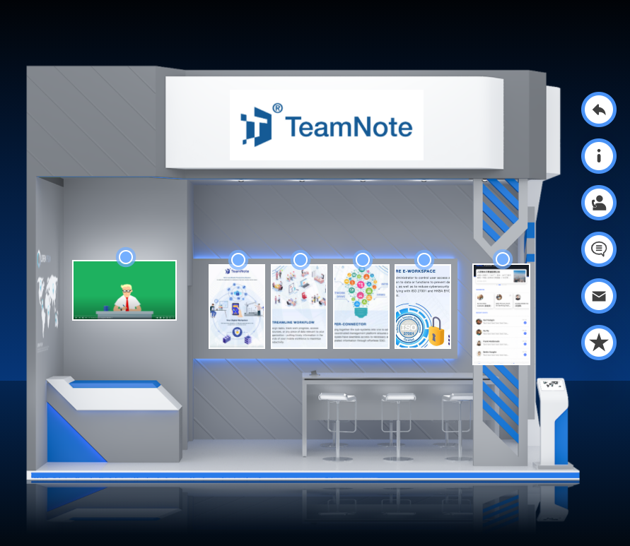 TeamNote x Touch Taiwan Exhibition 2021